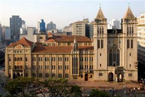 Vista do Mosteiro de São Bento de São Paulo