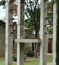 Mosteiro de São Bento em Vinhedo, interiro de SP